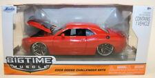 Jada 1/24 Scale Metal Model Car - 96894 - 2008 Dodge Challenger SRT8 - Red