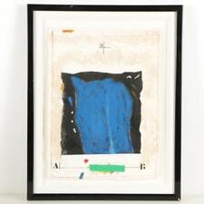 "James Coignard Limited Edition Carborundum Print ""Etude Masse Bleue"""