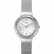 Ladies Timex Dress Mesh Watch T2P196 RRP £69.99