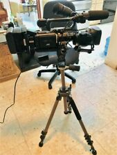 JVC GY-HD110 HDV FUJINON  TV video camcorder w/carry bag and tripod