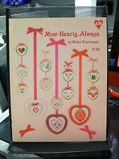 MINI-HEARTS ALWAYS CROSS STITCH PATTERNS KATHY STOPCZYNSKI B-101 HEART FROG BIRD
