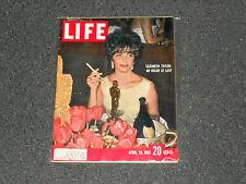 Elizabeth Taylor LIFE Magazine April 28.1961 Smoking With Cigarette Holder-NICE