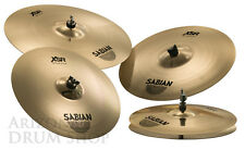 Sabian Xsr Promotional Set w/ Free 18 Fast Crash, 14/16/18/20 New, Free Shipping