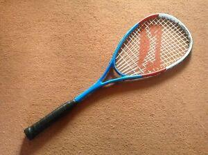 Slazenger Squash Racket V165 Prodigy Graphite Alloy ~ Lightweight Frame