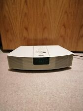 More details for bose awr123 wave radio am/fm radio built in speakers white -