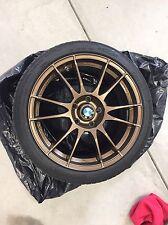 O.Z. Racing Ultraleggera MT Bronze Wheels & Tires 18x8
