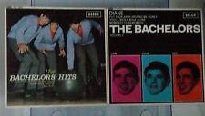 "THE BACHELORS' HITS & THE BACHELORS Vol 2 DECCA DFE 8595/8564 2 x 7"" EP records"