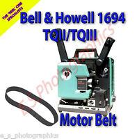 BELL & HOWELL 1694 TQII TQIII 16mm Cine Projector Belt (Main Motor Belt)