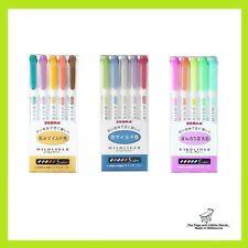 ZEBRA MILDLINER Double-Sided Highlighter 15 Colours Set