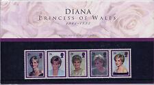GB 1998 DIANA PRINCESS OF WALES COMMEMORATION PRESENTATION PACK