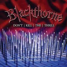 Blackthorne - Blackthorne II: Don't Kill The Thrill (NEW 2CD)