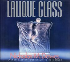 NICHOLAS M. DAWES - LALIQUE GLASS OVER 250 ILLUSTRATIONS - VIKING 1988