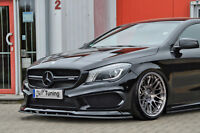 Spoilerschwert Frontspoiler ABS Mercedes A 45 AMG W176 Vorfacelift ABE