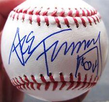 Ace Frehley KISS guitarist Single Signed MLB Baseball Ball PSA/DNA auto