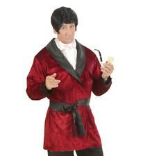 52 54 56 70er-anni-camicia 58-Camicia Pirati Camicia Volant-Rosso-Taglia: 50