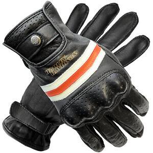 Harley Davidson Mens Reaver CE Leather Gloves 98178-18EM
