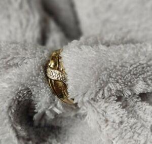 Ring gold 333 gestempelt