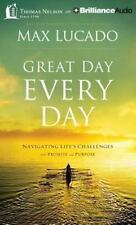 Max Lucado GREAT DAY EVERY DAY Unabridged CD *NEW* FAST 1st Class Ship!