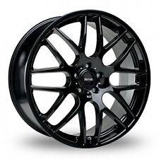 "18""gloss black alloy wheels bmw e90/e46 e36 3 1/4/z3/z4 series with tyres"