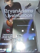 DVD BRYAN ADAMS CONCERTO LIVE IN LISBON TV SORRISI E CANZONI
