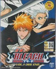 Anime DVD Bleach Complete Series Vol.1-366 End English Subtitle Free Shipping
