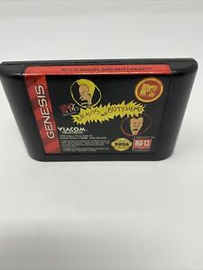 MTV'S BEAVIS AND BUTT-HEAD SEGA GENESIS, 1994 GAME CARTRIDGE ONLY TESTED!!!