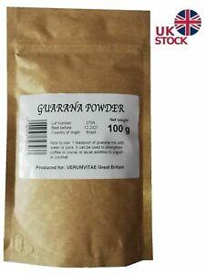 Guarana Powder Raw, Great Quality Energy and Stamina!