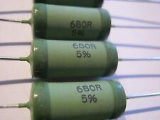 680r, 680ohm, 5%, 4w, 750v, 200ppm, Vishay, wk8, wk80922006800j5c00, 10 piezas