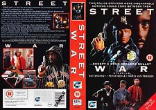 Street Wars, Ray Sharkey Video Promo Sample Sleeve/Cover #14801