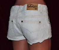 Jeans Short HotPants Tokyo Laundry Lesley Vintage Style 34,36,38,40,42,44,46