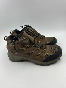 Merrell Boys moab WP hiking boots Earth size 6.5 M , 606