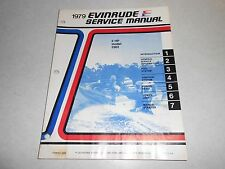 1979 2 hp Genuine Evinrude Johnson Outboard Repair & Service Manual 2hp
