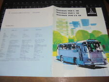 Prospekt Sales Brochure Magirus Deutz 150 L 10 Trambus Omnibus Nutzfahrzeuge