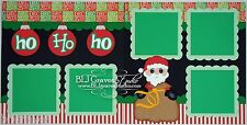 CraftEcafe Premade Scrapbook Pages Paper Piecing Christmas Santa BLJgraves 1