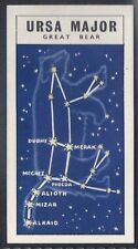 BROOKE BOND-OUT INTO SPACE (ISSUED IN)-#37- URSA MAJOR (THE GREAT BEAR)