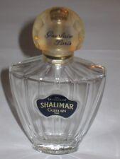 "Vintage Guerlain Shalimar Perfume Spray Bottle - 2.5 OZ 75 ML - Open/Empty - 5"""