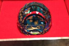 Swarovski Crystal Round Ball 40mm Paperweight 9406 NR 40 Bermuda OLD Map MINT