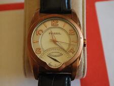 Nice Fossil Arkitekt FS-4239 Rose Gold Tone S.S. Men's Watch in Unique Style