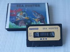 MSX Game - Sea Hunter