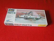 Vintage Rare Plastic Model Airplane Jet Hasegawa Mini Craft Fuji T-1A