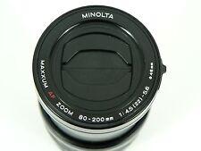 Minolta Maxxum AF Zoom Lens 80-200mm 1:4.5-5.6 for Sony Alpha A Mount and Maxxum
