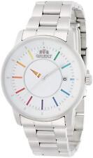 ORIENT WV0821ER STYLISH AND SMART WHITE RAINBOW MEN Japan import F/S Watch