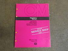 John Deere 4600 Plow Owners Amp Maintenance Manual Jd