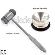 Implant osseux Mélange Amalgame bien greffage-Bone Chirurgie Instruments-Os Mallet