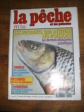 La pêche et les poissons N° 595 les produits qui attirent les poissons saumon