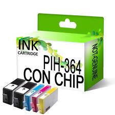 5 Genérico Cartuchos de tinta para HP 364 XL DeskJet 3070A 3520 con chip