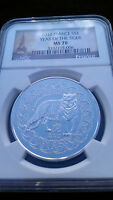France 2010 Silver Tiger NGC MS 70 UC French MS 70 Population-23
