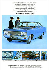 VAUXHALL CRESTA PC RETRO A3 POSTER PRINT FROM CLASSIC 60's ADVERT