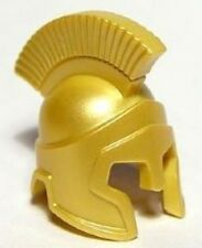 LEGO - Minifig, Headgear Helmet Spartan Warrior - Pearl Gold