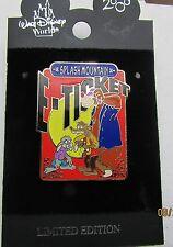 Disney E-Ticket Splash Mountain Goofy Pin